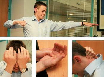 10 gestes simples pour se détendre au bureau