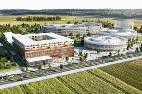 EDF installe son campus à Saclay