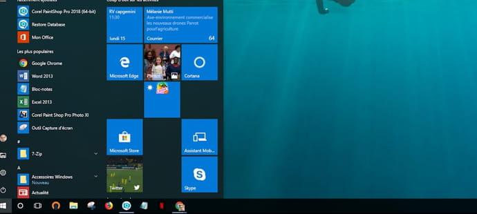 Windows10: Cortana bientôt retiré dubouton Démarrer?
