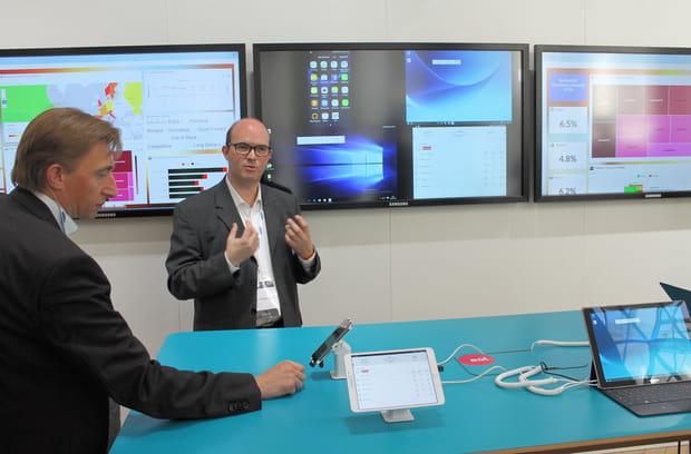 Des salles de réunions qui projettent facilement tous les écrans des collègues présents