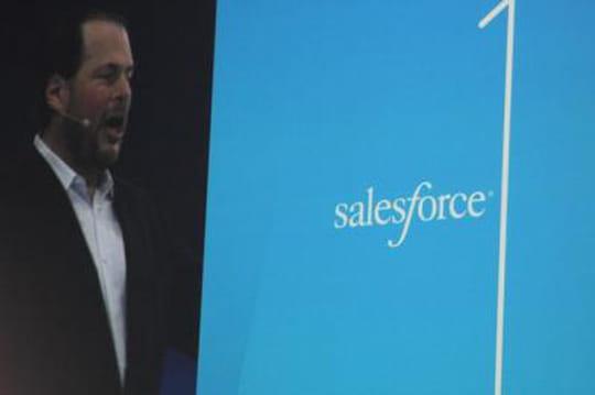 Salesforce1 lancé par Salesforce à Dreamforce 2013