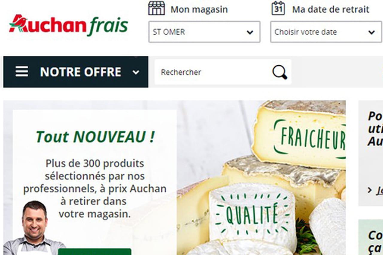 Les grandes ambitions d 39 auchan pour l 39 alimentaire frais for Email auchan