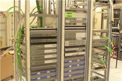 tête de réseau pour la diffusion de la télé hd, en cours de construction
