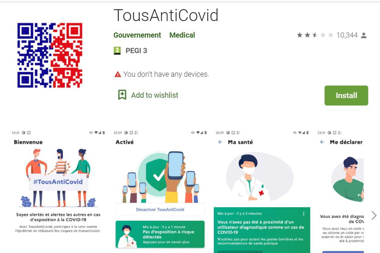 La mise à jour de Stop Covid est disponible — Tous Anti-Covid