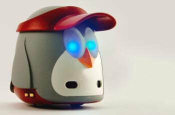 mydeskfriend, l'un des robots communicants d'arimaz