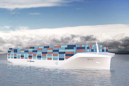 Rolls-Royce invente le navire porte-conteneurs sans pilote
