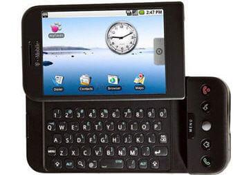 le g1, le premier téléphone sous google android.