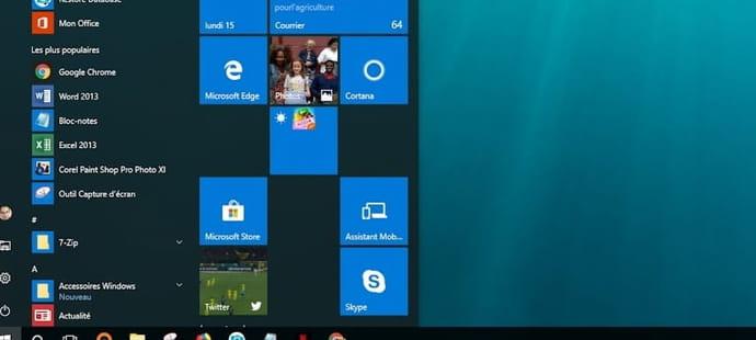 Windows10: Cortana serait bientôt retiré dubouton Démarrer