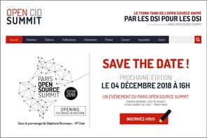 Open CIO Summit 2018: le rendez-vous des DSI avec l'open source