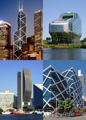 la hauteur et l'audace architecturale des grandes banques, une question de