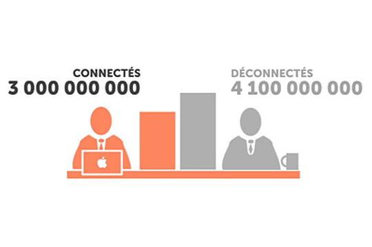Vidéo: les déconnectés de l'Internet en chiffres