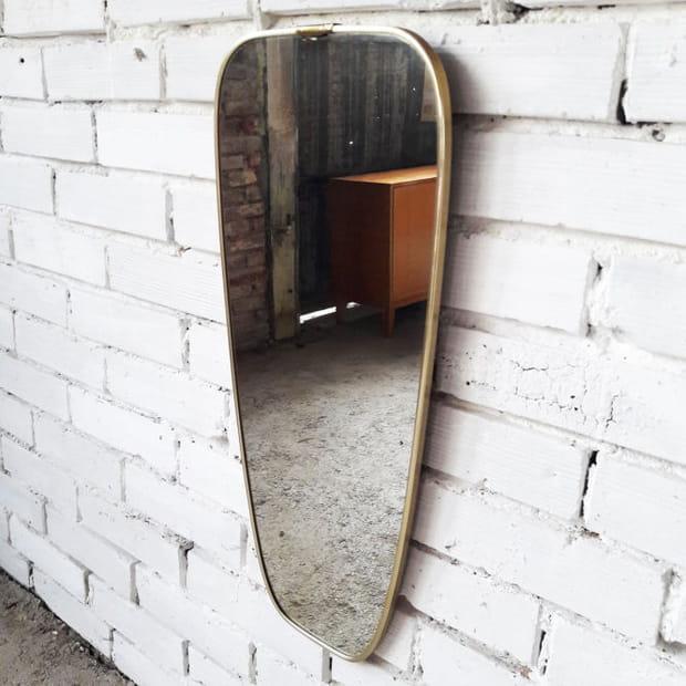 Miroir rétroviseur en laiton, à partir de 110euros