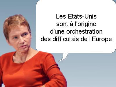 laurence parisot, présidente du medef, le 29 août 2011.