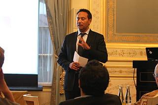 hervé uzan, directeur général france de vmware, à l'occasion d'une conférence de