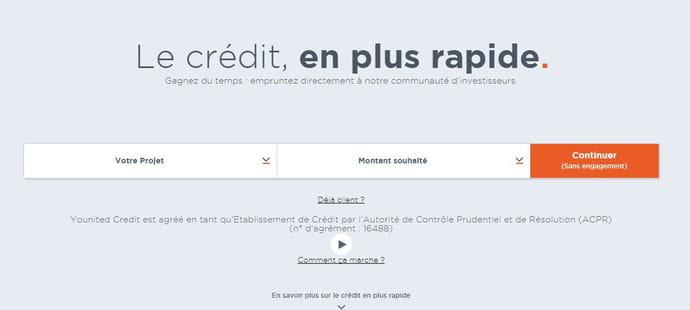 La plateforme de prêt aux particuliers Younited Crédit lève 40millions d'euros