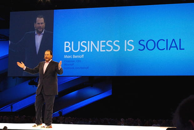 Dreamforce 2012 : Business is social