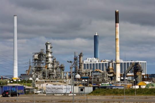 Raffinerie danoise