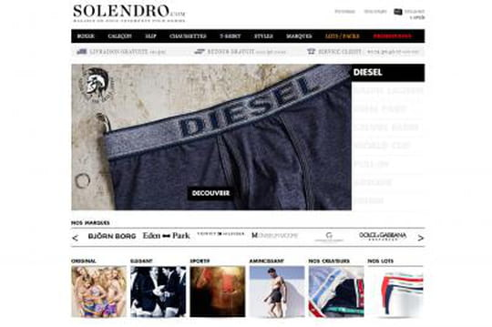 L'e-commerçant de sous-vêtements Solendro lève un million d'euros