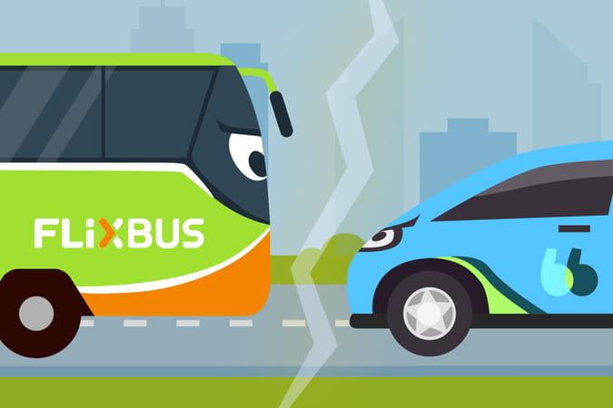 BlaBlaCar et FlixBus: vieux voisins, nouveaux concurrents
