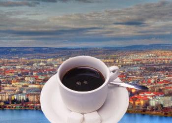 vienne est classée 15e ex-æquo avec dublin pour le prix du café.
