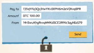 chaque transaction est publique, mais anonyme.