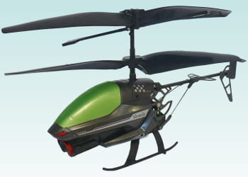 l'hélicoptère espion spy cam.