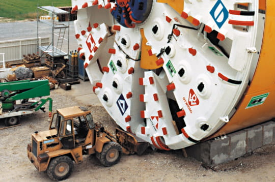 Machine géante