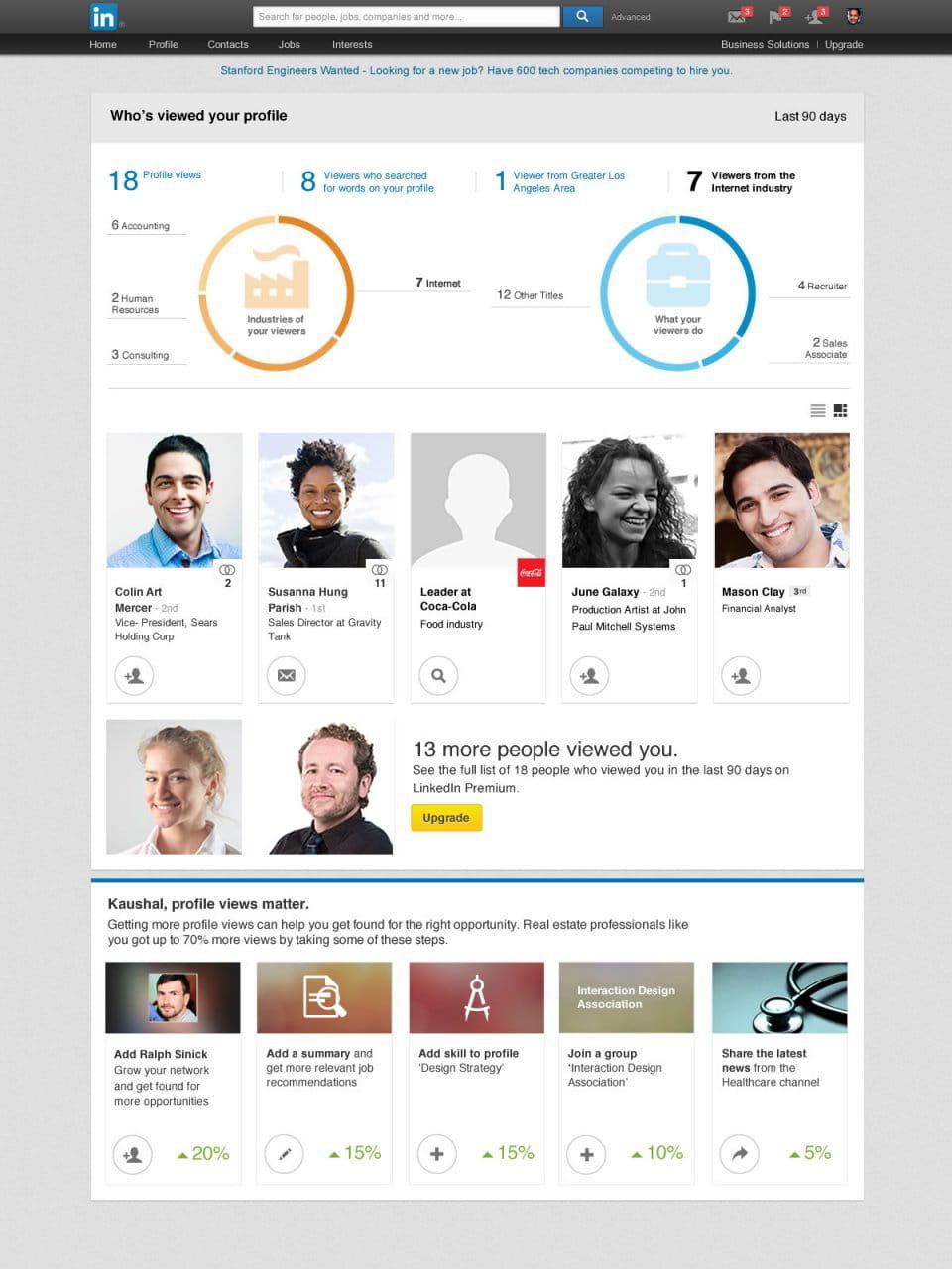 Linkedin 11 Fonctionnalites Que Vous Avez Tort D Ignorer