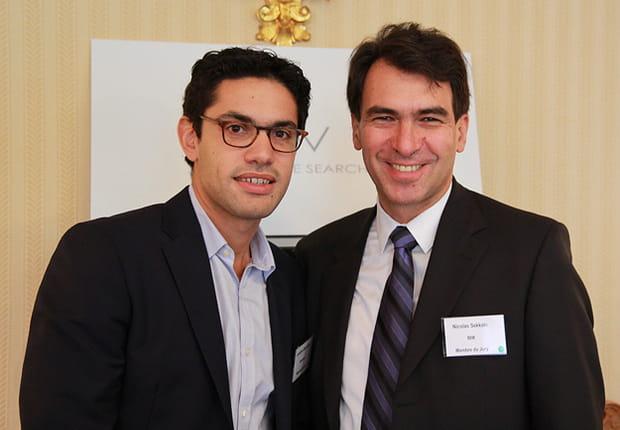 Jonathan Benhamou (Novapost) et Nicolas Sekkaki (IBM), deux membres du jury