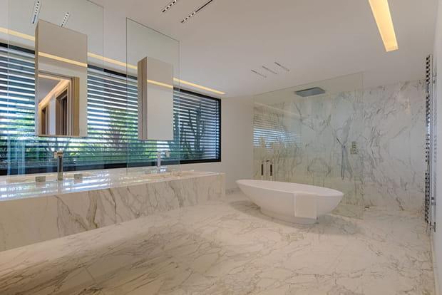 … et autant de salles de bain