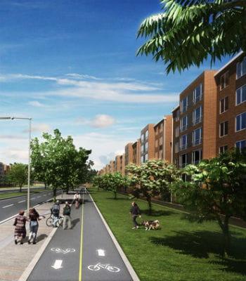 ciudad verde est une ville nouvelle en constuction en banlieue de bogota, prévue
