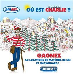 la campagne de communication développée pour le compte de l'enseigne skiset