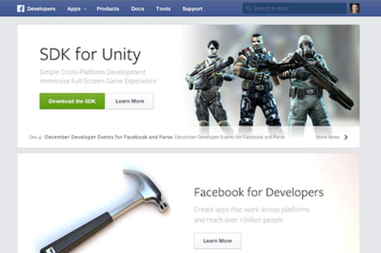 Facebook refond son site pour les développeurs