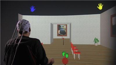 avec openvibe, on peut visiter un musée virtuel par la pensée
