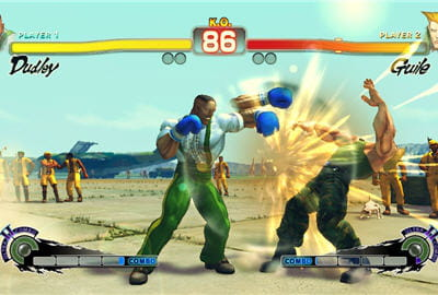 dudley, personnage de street fighter 3, a décidément la classe pour un