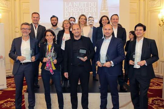 Les lauréats de la Nuit du Directeur Digital sont....