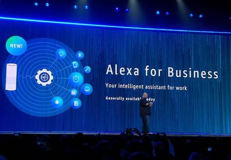 Amazon veut faire entrer Alexa dans l'entreprise