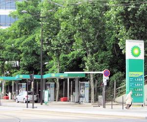 le prix du gazole dans les stations bp a baissé de 3,6% en 2009.