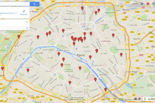 Cartographie : l'écosystème des incubateurs de start-up parisiens