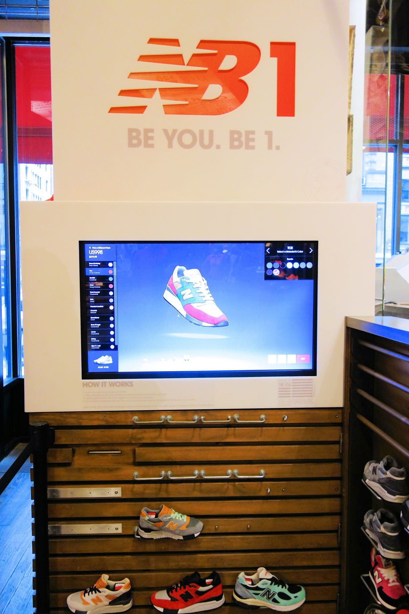 New Balance, 5th Avenue : le digital au service de la