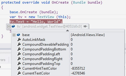 visual studio xamarin