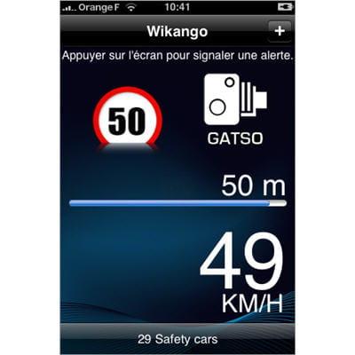 ce logiciel transforme votre iphone en avertisseur de radars