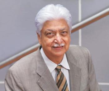 azim h. premji est le pdg de la ssii indienne wipro.