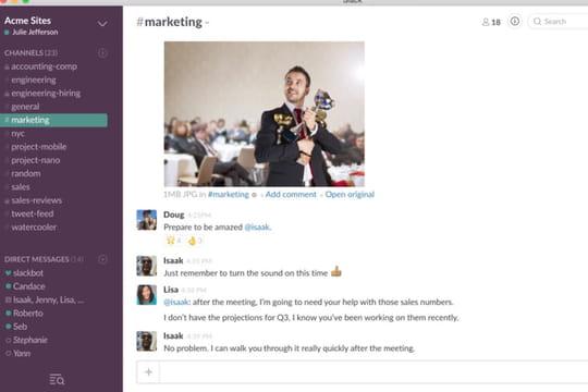 Slack s'attaque un peu plus au marché de Skype et Google Hangouts