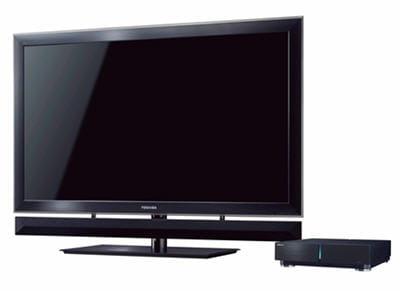 le cell tv de toshiba : un monstre de puissance, voulu sans défaut