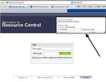 phishme, une plate-forme web de test d'intrusion en social engineerin.