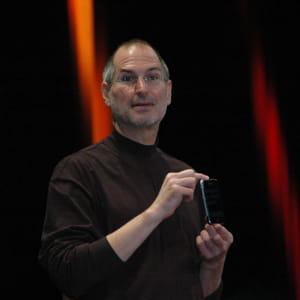 steve jobs,co-fondateur d'apple.