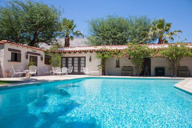 L'hacienda de Bing Crosby à Palm Springs (Etats-Unis)