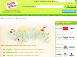 achetezfacile.com a agrégé les produits soldés dans un espace dédié