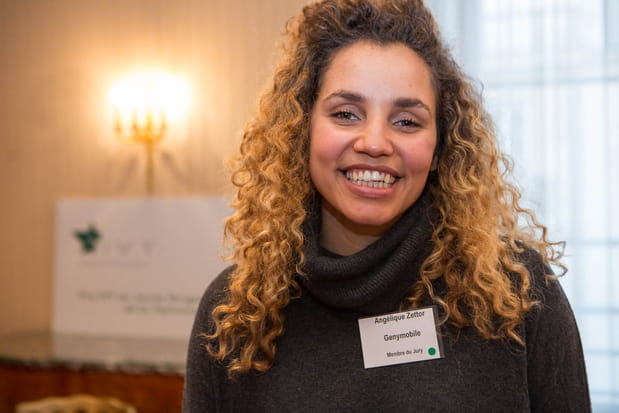 Angélique Zettor (Genymobile), lauréate en2014, elle aussi présente